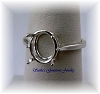 OVAL WIRE BASKET RING - SERIES 005-498